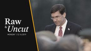 Secretary of Defense Mark Esper speaks at the 75th Anniversary of the Battle of the Bulge Commemoration in Luxembourg