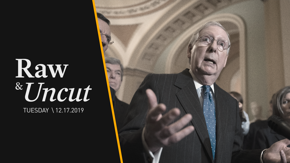 Senate Majority Leader Mitch McConnell (R-KY) discusses his decision to reject Senator Chuck Schumer's call for more witnesses in the impeachment trial