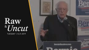 Senator Bernie Sanders (I-VT) discusses what makes his campaign different than others while in Des Moines, IA