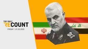 Trump ordered the killing of Iran's top military leader, Qassem Soleimani. Yes, this is a huge deal, and no, Congress did not authorize it. In today's Daily Recount, we're breaking down the facts, dissecting the fallout, and revisiting how Trump felt about Iran in 2011.