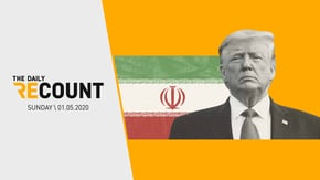 Spend your weekend avoiding politics? We get it.   That's why we're back with a new Daily Recount: Weekend Edition — your recap of the weekend in politics and a glimpse at the week ahead. Today, the U.S. waits for Iranian retaliation while the Senate waits for those impeachment articles.