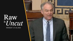 Senator Tim Kaine (D-VA) proposes changing the war powers granted to a president after the recent airstrike against Iran's top commander