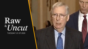 Senate Majority Leader Mitch McConnell (R-KY) responds to criticism of President Trump's recent Iran attack and the Senate's upcoming impeachment trial