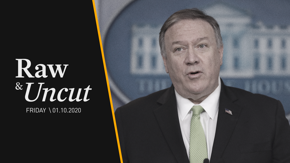 "Secretary of State Mike Pompeo announces new sanctions against Iran and takes questions about that ""imminent threat"""