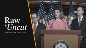 Speaker of the House Nancy Pelosi (D-CA) names the managers for the Senate impeachment trial of President Donald Trump