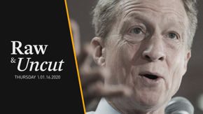 Democratic presidential candidate Tom Steyer shares his different strategies for the U.S. military
