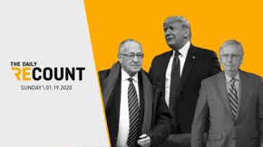 The Daily Recount: Weekend Edition is here — your recap of the weekend in politics and a glimpse at the week ahead. We're just two days away from the historic impeachment trial of Donald Trump. Here's everything you need to know.