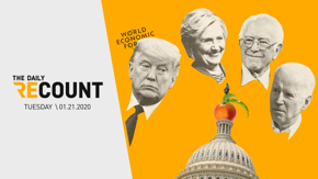 The Senate's impeachment trial started today while Trump is in Switzerland. And there's a lot you should know. We'll get you caught up in less than 5 minutes.