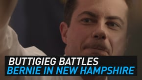 Momentum from Iowa is one thing, but will it be enough for Pete Buttigieg to eclipse Bernie Sanders in the New Hampshire primary?