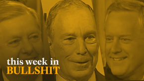 Dry ham by the gram, brainwashed clams pushing a scam, and Dems caught on cam that make us say god damn — all here on This Week in Bullshit.