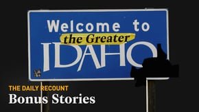 Some conservatives in Oregon are petitioning to leave the state, but they're not planning to move. The Greater Idaho Group is proposing redrawn state lines to make rural Oregon part of Idaho instead.