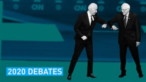 And then there were two. Sanders and Biden stepped up to their CDC-approved podiums and let it rip in the 11th Democratic debate.