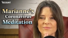 Marianne Williamson's coronavirus meditation just might cure you.