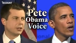 "Is ""Pete Obama voice"" a thing?"