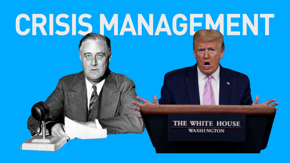 For a leader, crisis communication is as important as dealing with the crisis itself. Jen Palmieri explores how Trump compares to previous U.S. presidents in a crisis.
