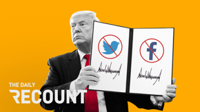 Trump signs an executive order targeting social media, Minneapolis protests boil over after the killing of George Floyd, and the White House shields grim economic data.