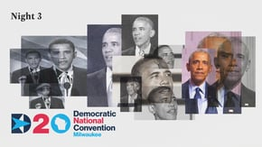 A soaring Obama speech has been a fixture of Democratic conventions since 2004. But 2020 was ... a little different