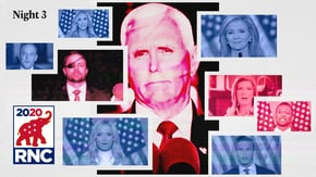 "From Mike Pence's call for ""law and order"" to Madison Cawthorn's ""radical"" stand for the American flag, here are the six highlights from Night 3 of the Republican National Convention."