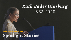 Ruth Bader Ginsburg served on the Supreme Court for 27 years. Her legacy of fighting for justice and equality will live on.
