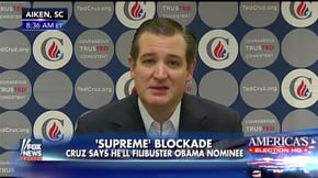 "In 2016, Ted Cruz said the Senate ""should not"" confirm a Supreme Court nominee in an election year."