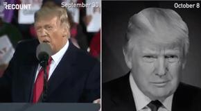 Trump then: Joe Biden is canceling the debates.  Trump now: I'm not doing the debate.