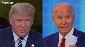 Donald Trump and Joe Biden held dueling town halls last night, one on NBC and one on ABC.