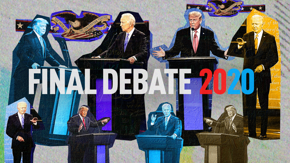 Here are the key exchanges from the last presidential debate that proved much more substantive than predicted — from COVID, to foreign policy, to health care.