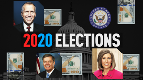 Democratic donors poured hundreds of millions of dollars into Senate seats this cycle. We take a look at three historically expensive races.