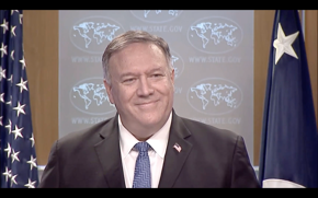 "Secretary of State Mike Pompeo: ""There will be a smooth transition to a second Trump administration."" (There will not be a second Trump administration.)"