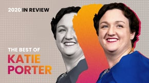 When California Representative Katie Porter takes out her whiteboard, CEOs and administration officials better hide. Check out what she tackled this year, from bloated CEO pay to government accountability.