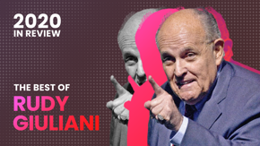 America's mayor Rudy Giuliani made it through 2020 just like the rest of us: with farts, hair-dyed sweat, and tears.