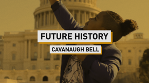 In our second installment of 'Future History,' eight-year-old Cavanaugh Bell sits down with us just weeks after his inauguration appearance. He talks about his philanthropy in the pandemic, his anti-bullying roots and his political future.