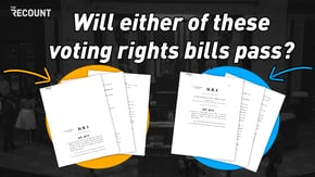 Amid a tsunami of state restrictions on voting, congressional Democrats are resting their hopes on two landmark pieces of legislation, the For the People Act and the John Lewis Voting Rights Act — and their thin majorities may depend on them.