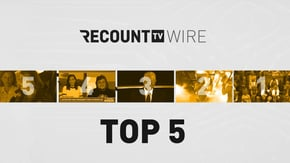A victory for transgender rights. A timely message for Donald Trump. And a surprise pregnancy on national TV. What more could you want from today's Recount Wire?