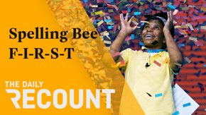 In historic news: A 14-year-old became the first Black American student to win the Spelling Bee. In COVID news: Pfizer thinks Americans need a vaccine booster shot, but the CDC and FDA disagree. In business news: Toyota relents to pressure after donating to 2020 election deniers.