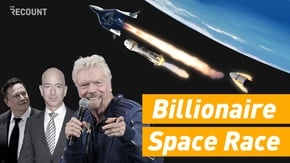 Multibillionaires Jeff Bezos and Richard Branson are officially in a race to launch the space tourism industry. But with tickets anywhere from $200K to $55 million, there are only a select few earthlings who can afford it.