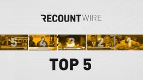 Gayle King asks Jeff Bezos the question we're all thinking: Is this a game of 'Whose is Bigger?' Plus, the first-ever all-female crew broadcasts a Major League Baseball game. Watch these moments and more on Recount Wire.