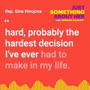 On Just Something About Her, Texas State Reps. Gina Hinojosa and Mary González give an update on anti-choice legislation in the state.