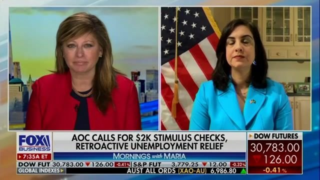 "Rep. Malliotakis (R-NY) on Biden $1.9T COVID relief plan: ""They won't be satisfied until we have complete socialism ..."""