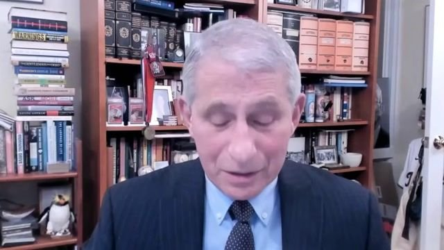 Dr. Fauci tells WHO that Biden has retracted the Trump administration's announcement to withdraw from the organization.