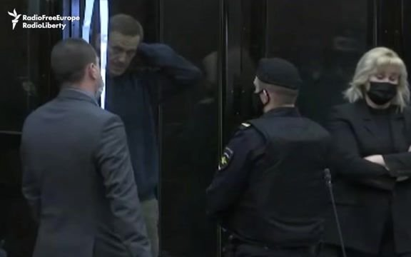 Kremlin-critic Alexei Navalny appears in court over old embezzlement charges that could have him imprisoned for years.