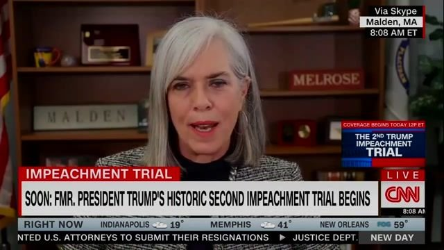 """Asst House Speaker Clark (D-MA) on whether Dems will call witnesses against Trump or not in this """"unusual"""" proceeding."""