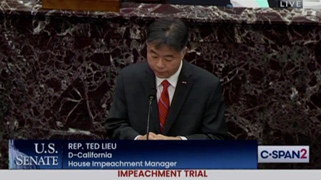"Rep. Lieu (D-CA): ""I'm not afraid of Donald Trump running again in 4 years. I'm afraid he's going to run again & lose."""