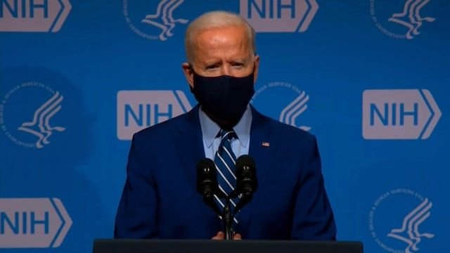 """Biden makes a big announcement: """"We signed final contracts for 100M more Moderna & 100M more Pfizer vaccines."""""""