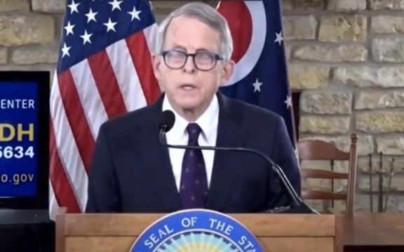 """Gov. DeWine (R-OH) says some students have """"just not done that well"""" in remote learning."""
