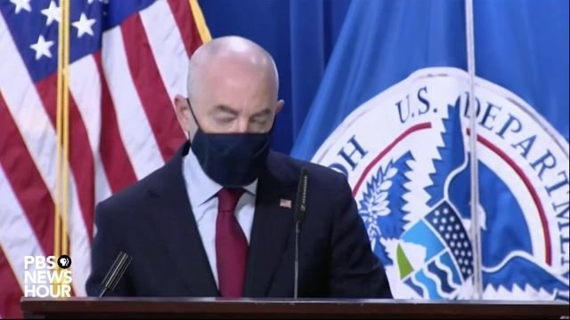 Secretary Mayorkas announces DHS has seized more than 11 million counterfeit N95 masks in the last few weeks.