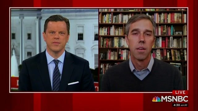Beto mentions on TV how Sen. Cruz reportedly hightailed it to Cancun, Mexico, while his constituents freeze to death.
