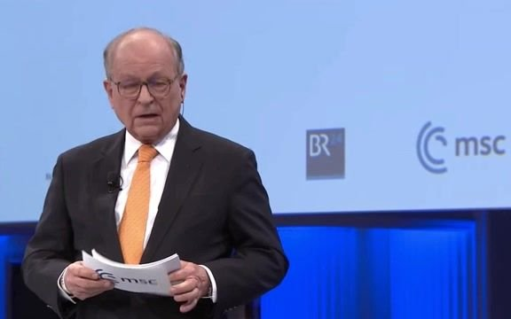 Munich Security Conference Chair Wolfgang Ischinger, ahead of Biden's remarks: West is less rules-based & value-driven.