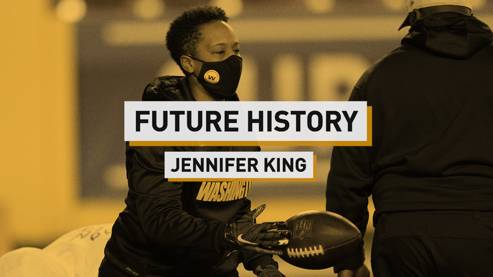 Jennifer King's History-Making Year with the NFL