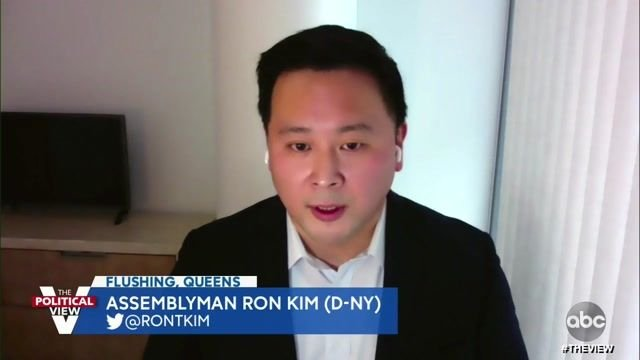 "NY Assemblyman Ron Kim (D) on The View: ""Cuomo is an abuser. He has abused his powers and abusers are cowards."""